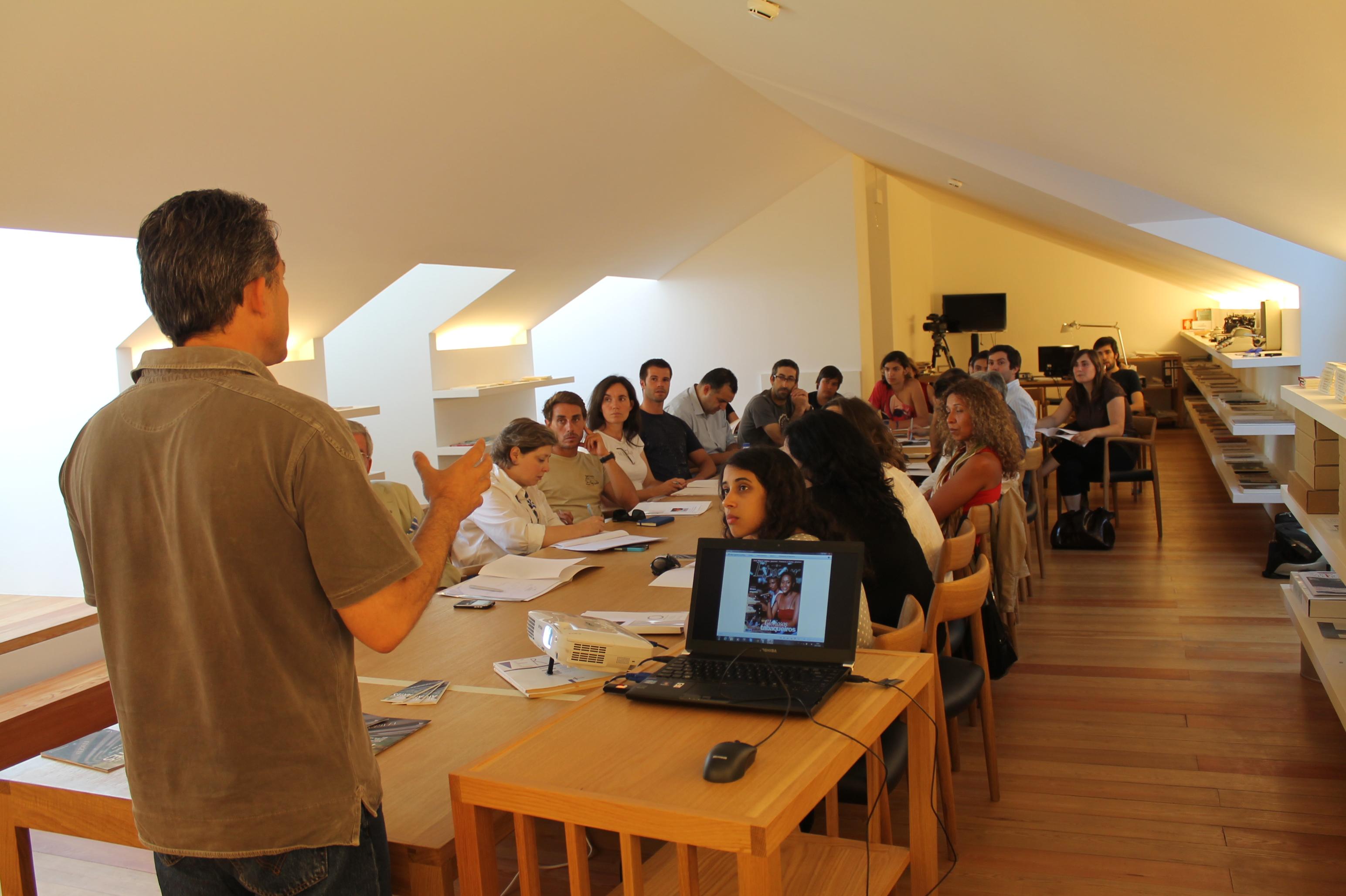 Workshop com Gonçalo Cadilhe na Casa da Escrita