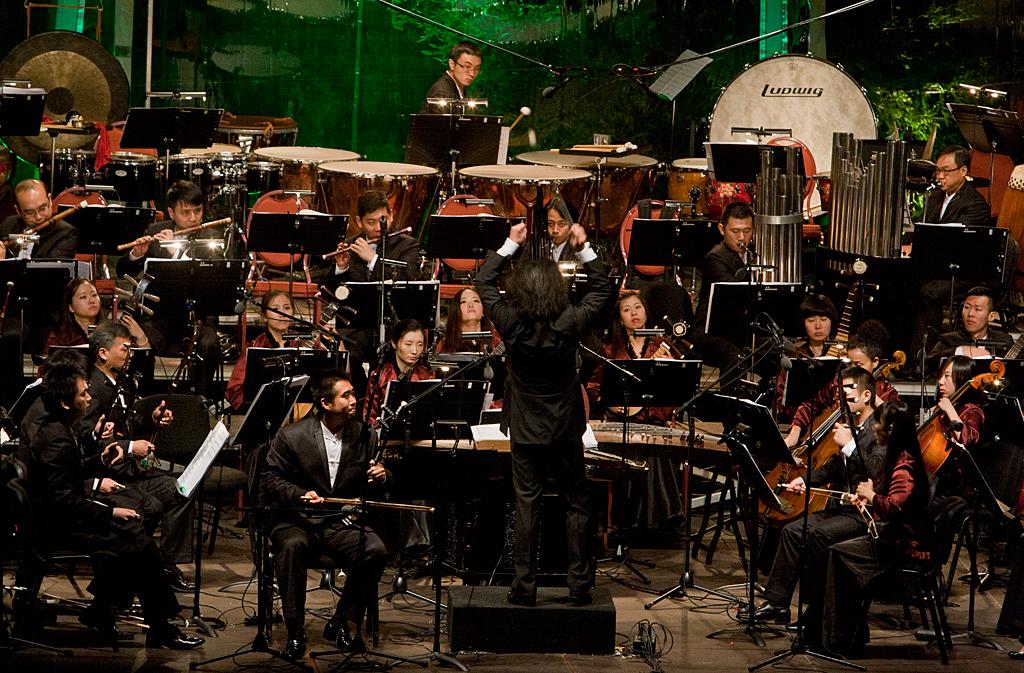 Fotos do Concerto da Orquestra Chinesa de Macau