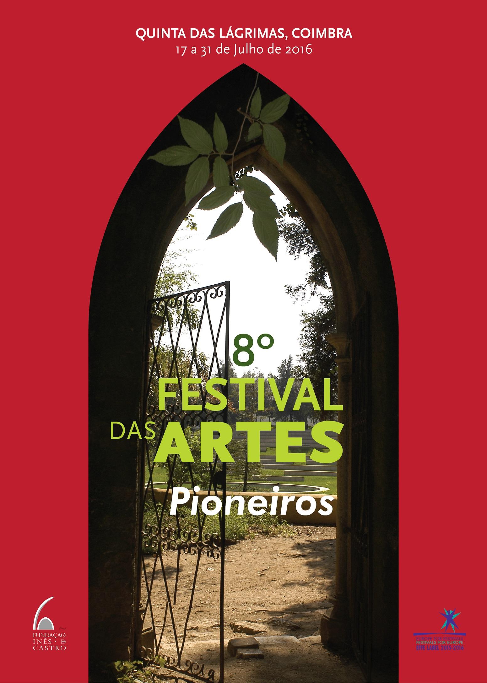 Festival das Artes 2016 Pioneiros