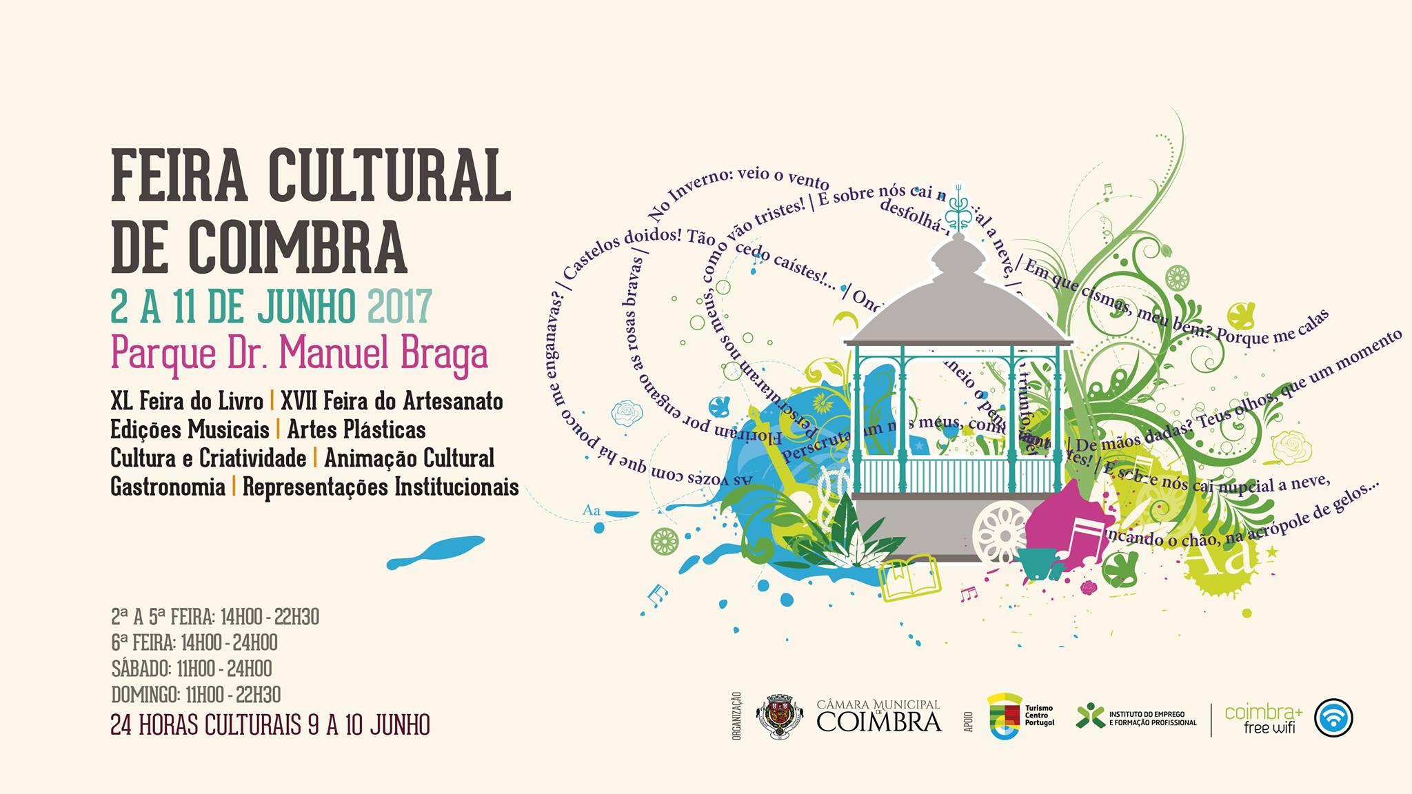 Feira Cultural de Coimbra 2017 | De 2 a 11 de Junho