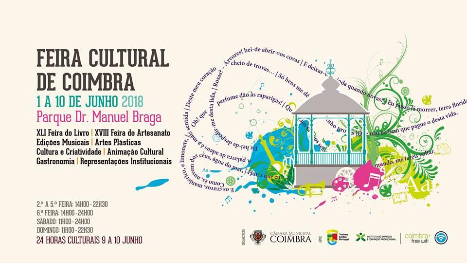 Feira Cultural de Coimbra 2018 | De 1 a 10 de Junho