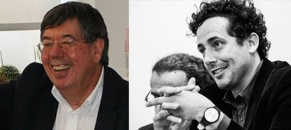 """Carlos Fiolhais e António Carlos Cortez, oradores da conferência """"A Ciência e a Poesia do Amor"""""""
